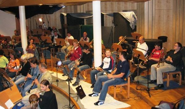 """2005 - Tonaufnahmen für """"Klingendes Österreich"""""""