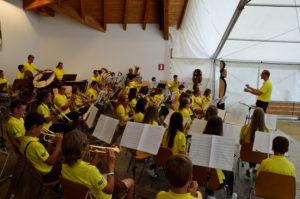 Konzert der Jugenkapelle beim Sommerfest 2017